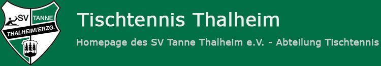 Tischtennis Thalheim